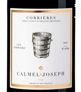 Gamme Les Terroirs - Corbières - Calmel & Joseph - 2018 - Rouge