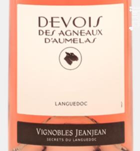 Devois des Agneaux d'Aumelas - Devois Des Agneaux D'Aumelas - Vignobles JeanJean - 2018 - Rosé