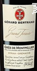 GRAND TERROIR GRÈS DE MONTPELLIER - Maison Gérard Bertrand - Cross Serie - 2017 - Rouge