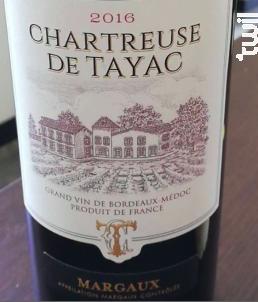Chartreuse de Tayac - Château Tayac - 2016 - Rouge