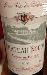 Château de Nodoz - Château Nodoz - 1986 - Rouge