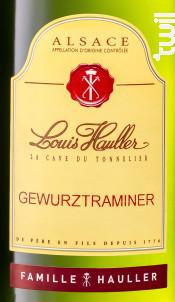 Gewurztraminer - Domaine Louis Hauller - Non millésimé - Blanc