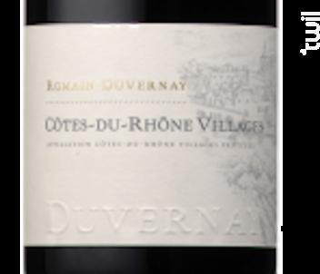 Côtes-du-Rhône Villages - Romain Duvernay - 2010 - Rouge