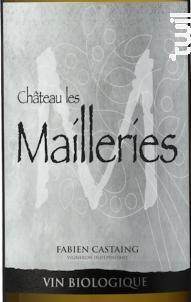 M - Château les Mailleries - Château Les Mailleries • Vignobles Fabien Castaing - 2018 - Blanc