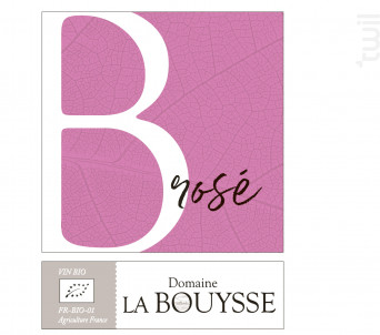 B de la Bouysse - DOMAINE LA BOUYSSE - 2019 - Rosé