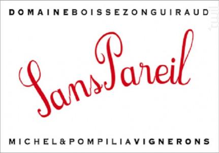 Sans Pareil - Domaine Boissezon Guiraud - 2017 - Rouge