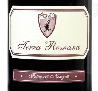 Terra Romana Feteasca Negra - Terra Romana - 2016 - Rouge