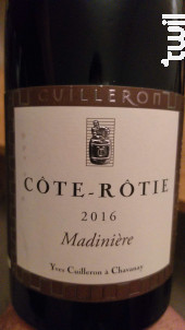Madinière - Cave Yves Cuilleron - 2016 - Rouge
