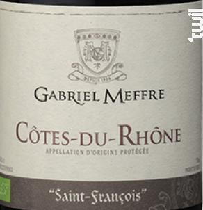 Saint Francois - Maison Gabriel Meffre - 2017 - Rouge