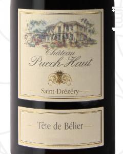 Tête de Bélier - Château Puech-Haut - 2017 - Rouge