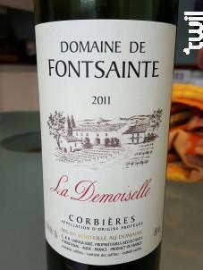 La Demoiselle - Domaine de Fontsainte - 2018 - Rouge