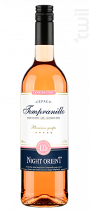 Tempranillo - Sans alcool - Night Orient - Non millésimé - Rosé