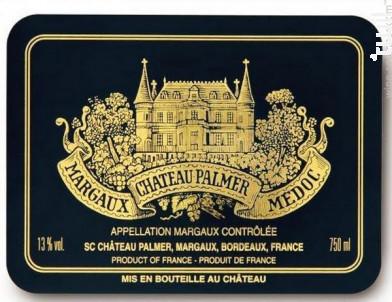 Château Palmer - Château Palmer - 2007 - Rouge