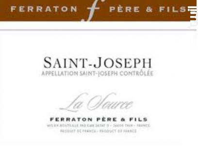 La Source - Ferraton Père & Fils - 2014 - Blanc
