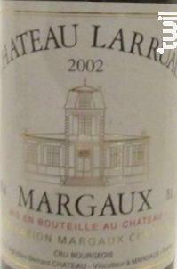 Château Larruau - Château Larruau - 2002 - Rouge