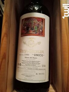 Unico - Bodegas Vega Sicilia - 1990 - Rouge