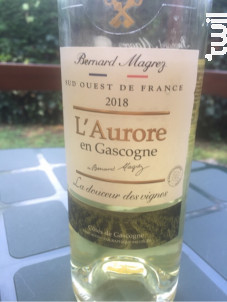 L'Aurore en Gascogne - Bernard Magrez - 2018 - Blanc