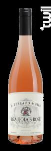 Beaujolais Rosé - P. Ferraud & Fils - 2020 - Rosé