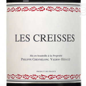 Les Creisses - Domaine des Creisses - 2016 - Rouge