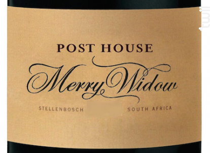 Merry widow - Post House - 2015 - Rouge