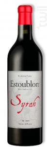 100% Syrah - Château d'Estoublon - 2014 - Rouge