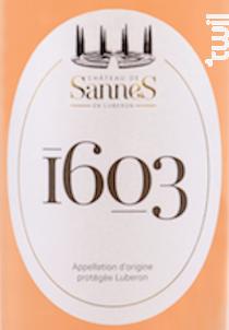 1603 Rosé - Château de Sannes - 2020 - Rosé