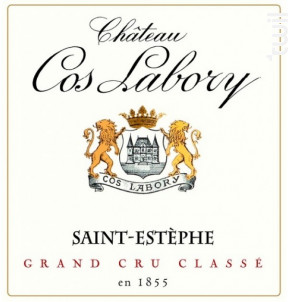 Château Cos Labory - Château Cos Labory - 2017 - Rouge