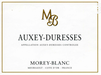 Auxey-Duresses - Morey-Blanc - 2013 - Blanc