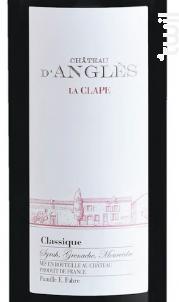 CHÂTEAU D'ANGLÈS CLASSIC - Château d'Anglès - Non millésimé - Rouge