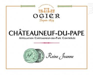 Reine Jeanne blanc - Maison Ogier - 2017 - Blanc