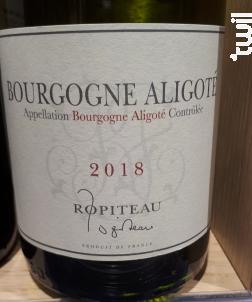 Bourgogne Aligoté - Ropiteau Frères - 2018 - Blanc