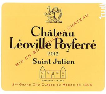 Château Léoville Poyferré - Château Léoville Poyferré - 2013 - Rouge
