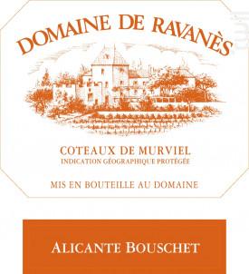Alicante Bouschet - Domaine de Ravanès - 2017 - Rouge