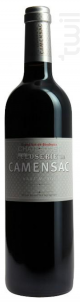 La Closerie de Camensac - Château de Camensac - 2011 - Rouge