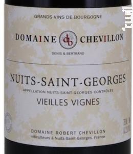 NUITS SAINT GEORGES Vieilles Vignes - Domaine Robert Chevillon - 2014 - Rouge