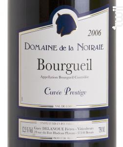 Cuvée Prestige - Domaine de La Noiraie - 2015 - Rouge