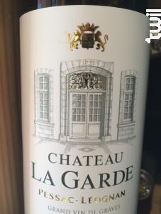 Château La Garde - Vignobles Dourthe - Château La Garde - 2014 - Blanc