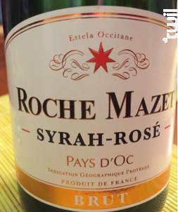 Syrah - Rosé - Brut - Roche Mazet - Non millésimé - Effervescent