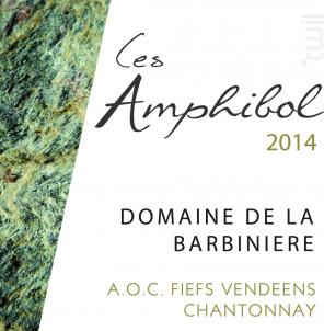 Les Amphibol - Domaine de la Barbinière - 2018 - Blanc