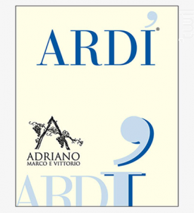 ARDI MOSCATO SECCO - MARCO E VITTORIO ADRIANO - Non millésimé - Blanc