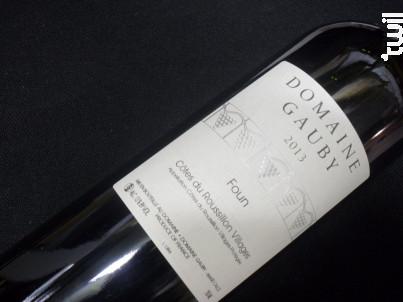 Domaine  Gauby Foun - Domaine Gauby - 2013 - Rouge