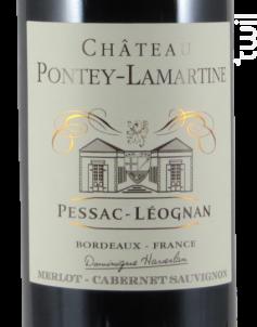Château Pontey-Lamartine - Vignobles  Haverlan - 2016 - Rouge