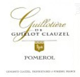 Guillotière de Guillot Clauzel - Château Guillot Clauzel - 2013 - Rouge