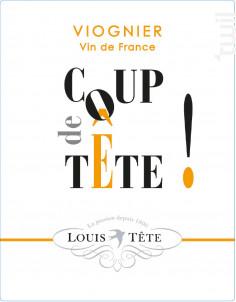 Viognier - Coup de Tête - Louis Tête - 2020 - Blanc