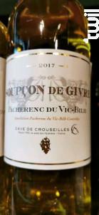 Soupçon de Givre - Cave de Crouseilles - 2017 - Blanc