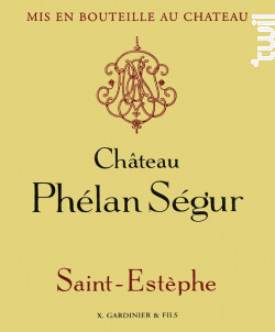 Château Phélan Ségur - Château Phélan Ségur - 2010 - Rouge