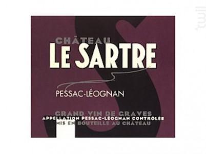 Château le Sartre - Château Le Sartre - 2012 - Rouge