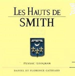 Les Hauts de Smith Blanc - Château Smith Haut Lafitte - 2017 - Blanc