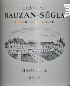Château Rauzan-Ségla - Château Rauzan-Ségla - 2010 - Rouge