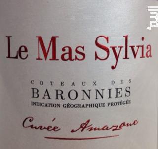 Cuvée Amazone - Le Mas Sylvia - 2014 - Rouge